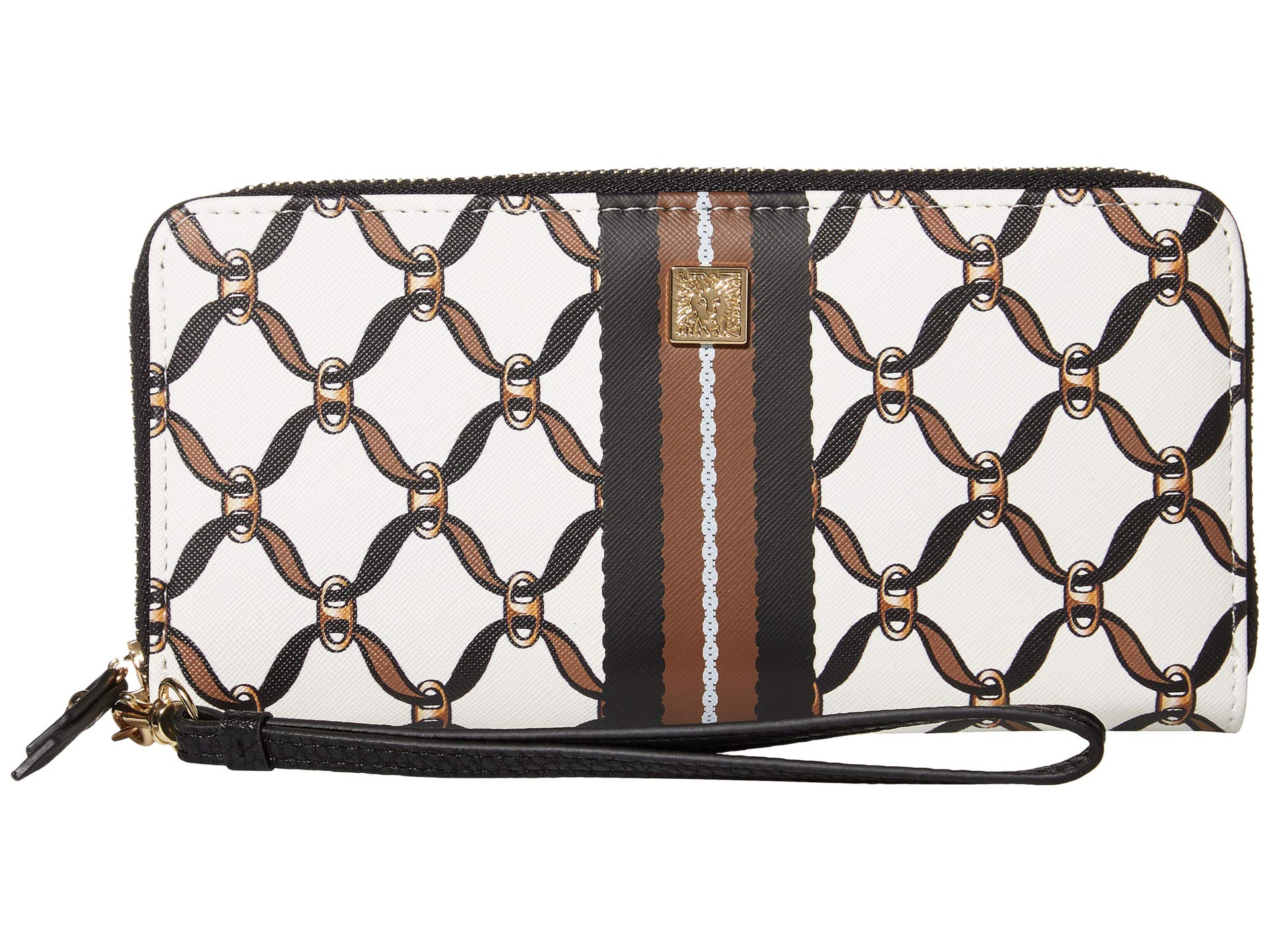 Anne Klein Anne Klein Slim Zip Wallet w/ Wristlet