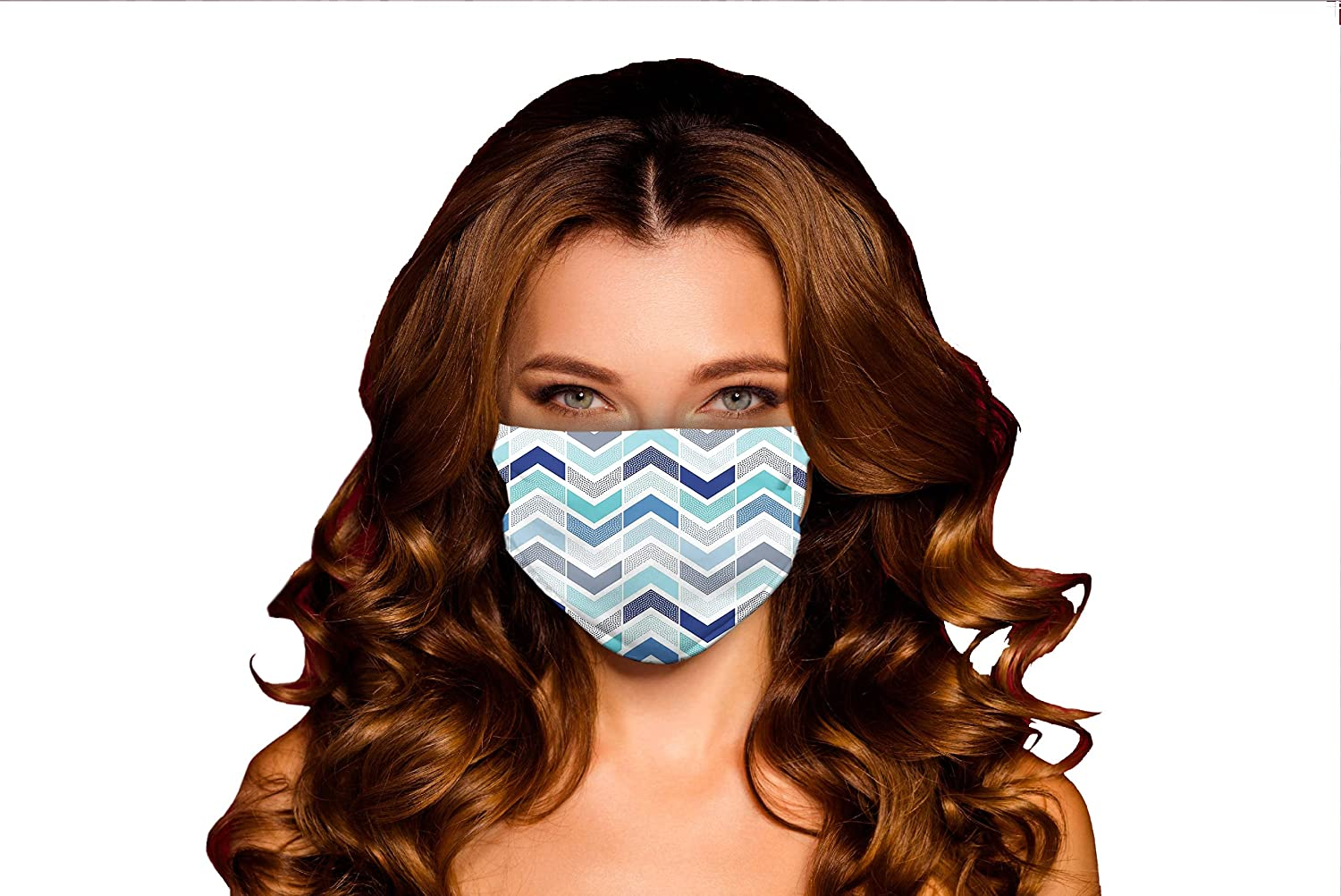 Windproof Activated Carbon mask Seamless in an Style Doodle Dots New mail order New mail order