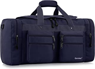 Gonex 45L Travel Duffel, Gym Sports Luggage Bag Water-Resistant Many Pockets