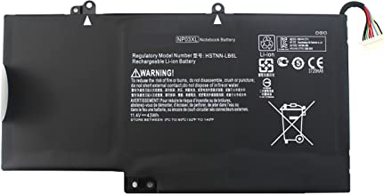 EBOYEE 43WH 11.4V NP03XL Battery Compatible with HP Pavilion X360 13-A010DX; Envy 15-U010DX 15-U011DX 15-U050CA HSTNN-LB6L TPN-Q146 TPN-Q147 TPN-Q148 TPN-Q149 761230-005 760944-421 15-U111DX Laptop