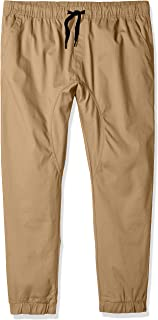 Southpole Big and Tall Basic Stretch Twill Jogger Pants-Reg and Big & Tall Sizes
