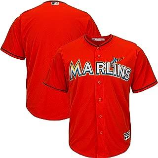 Outerstuff Miami Marlins Blank Orange Toddler Cool Base Alternate Jersey
