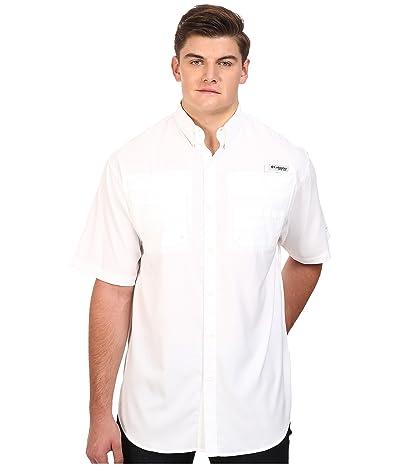 Columbia Big Tall Tamiami II S/S (White) Men