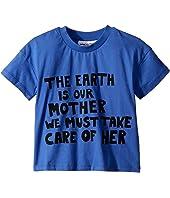 mini rodini - Mother Earth Short Sleeve T-Shirt (Infant/Toddler/Little Kids/Big Kids)