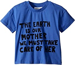 mini rodini - Mother Earth Short Sleeve T-Shirt (Infant/Toddler/Little Kids/Big Kids)