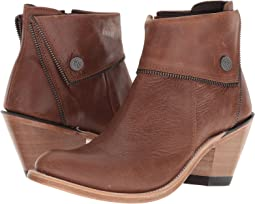 Old West Boots - Zippered Ankle Boot