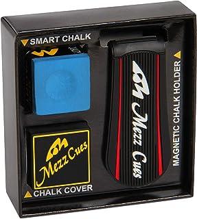 Mezz Smart Chalk Set Pool Cue Chalk + Chalk Holder + Chalk Cover