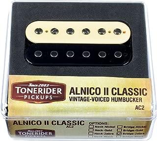 Tonerider Alnico II Classic Vintage Neck Humbucker - zebra