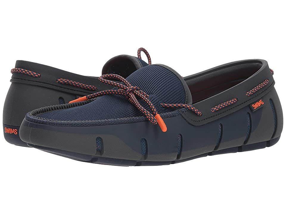 SWIMS Stride Lace Loafer (Navy/Dark Gray) Men