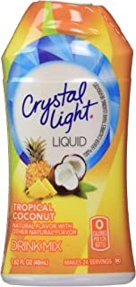 Crystal Light Liquid Tropical Coconut 1.62 OZ (Pack of 12)