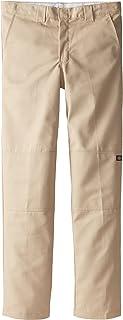 Dickies - QP200 del niño FlexWaist rodilla Doble Usos Múltiples Pocket Pant, 10, Desert Sand