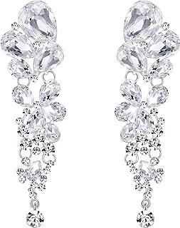 Best long diamante earrings Reviews