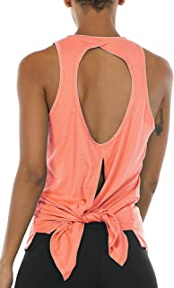 orange yoga top