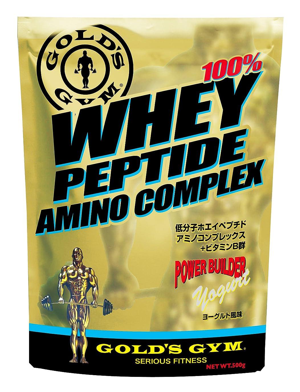 塩辛い恐ろしいロッドGOLD'S GYM ホエイペプチド アミノコンプレックス ヨーグルト風味 500g