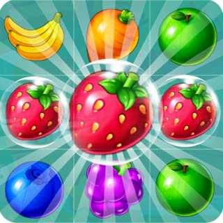 Fruit Candy Juice Fruit - Match 3 Puzzle Games Free (fruit and vegetables game for adults and kids)