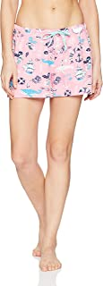 Women's Sea Creatures Pajama Boxer Shorts