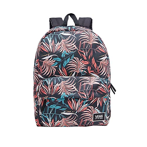 ee2d27bd0f0 Vans Realm Classic Backpack Casual Daypack, 42 cm, 22 L, Black California  Floral