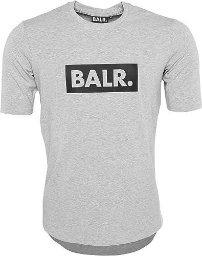 BALR. Klassisches Männer Club T-Shirt mit Athletic Fit - Schwarz- Weiß - Grau - Marineblau