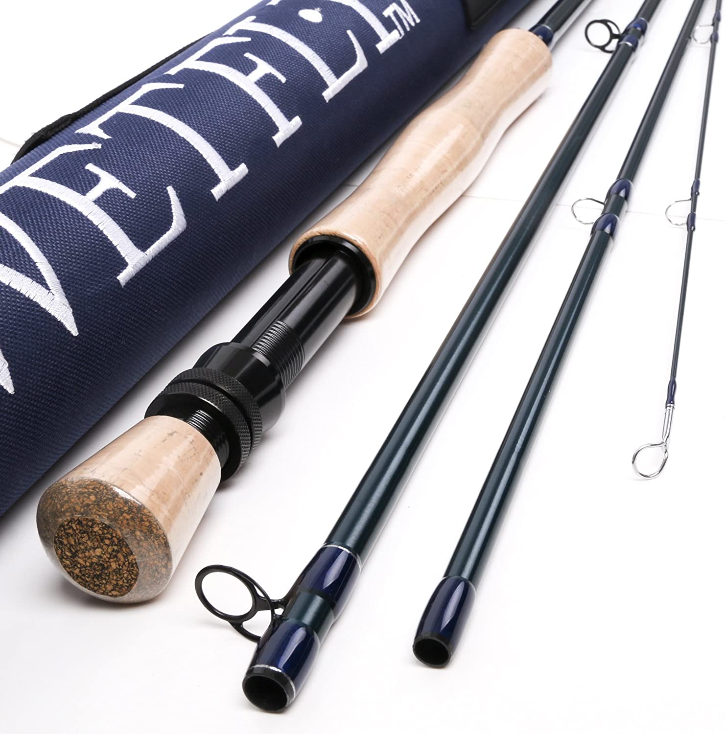 Wetfly Element2 4piece Fly Fishing Rods (9' 7wt)