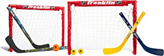 Franklin Sports - Juego de 2 porteros de hockey para niños,