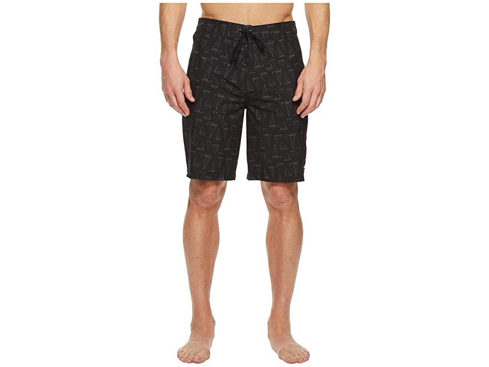 Hurley Phantom JIF IV Maritime 20 Boardshorts (Black) Men