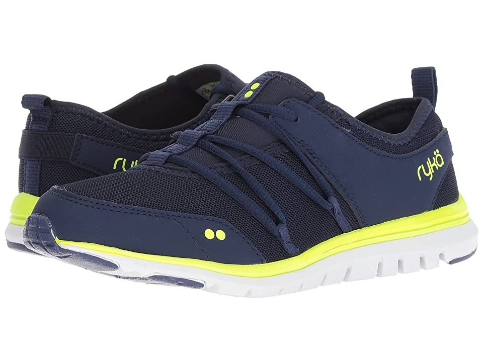 Ryka Andrea (Midieval Blue/Lime Shock) Women