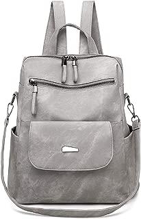 Qyoubi Women's Fashion Backpack Purse Anti-theft Girls Shopping Daypack Casual Convertible Multipurpose Travel Bag