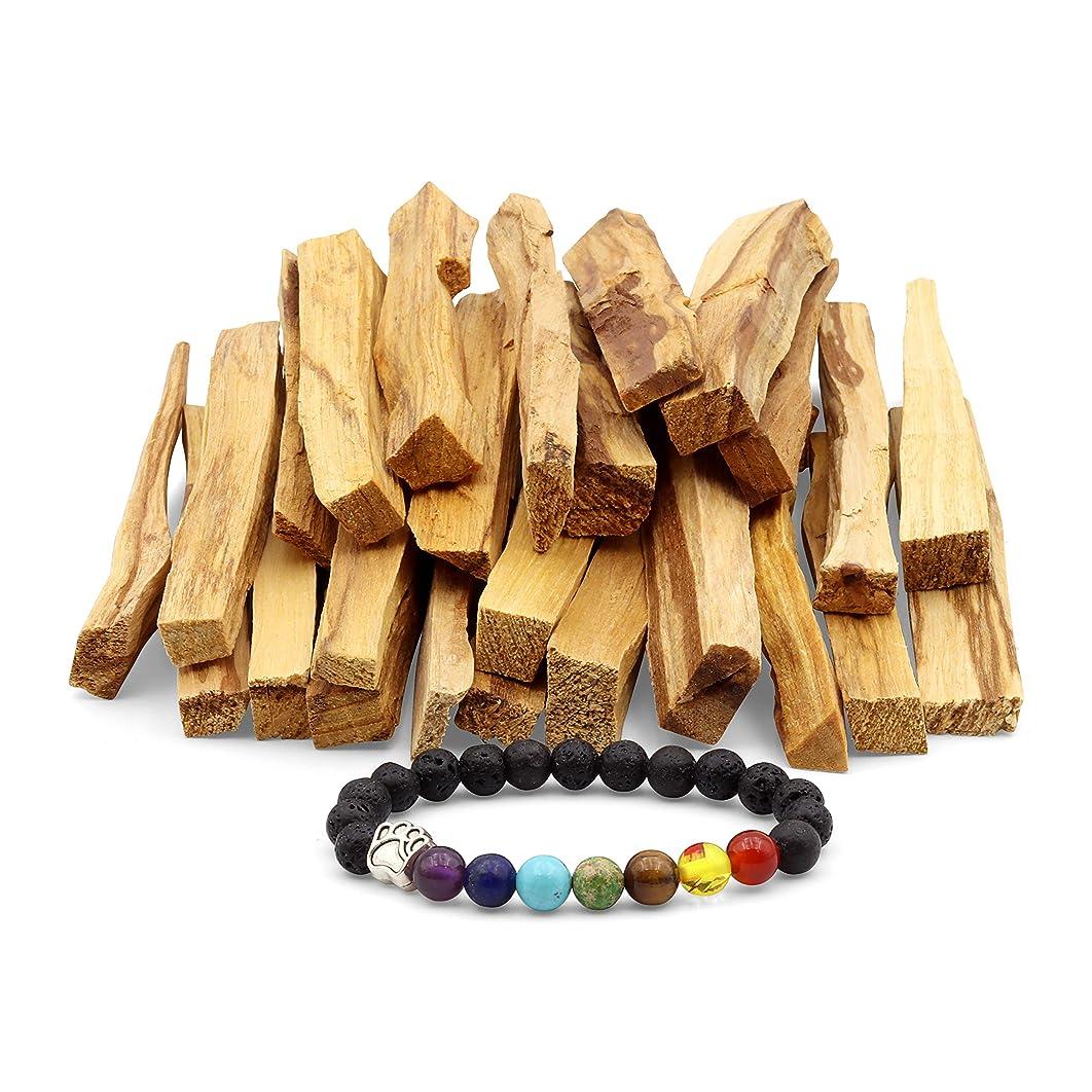 ピストン配当溶岩JL Local 天然パロサント香 - スマッジ、クレンジング、瞑想、ヨガの練習に - ホームフレグランス/アロマセラピーに 25 Sticks