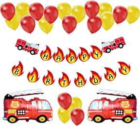 Best fire fighter decorations for parties