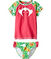Appaman Kids - Maui Rashguard Set w/ SPF 50 Cover-Up (Toddler/Little Kids/Big Kids)