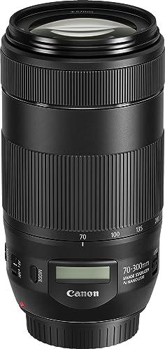 Canon EF 70-300mm f/4-5.6 IS II USMLens,Black(EF70-300ISII)