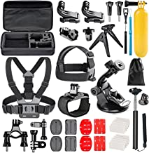 Followsun 38-In-1 Action Camera Accessories Kit for GoPro Hero  2019  Fusion Max Hero Session DJI OSMO Pocket AKASO Campark ACT74 ACT76 APEMAN Crosstour Sjcam Victure
