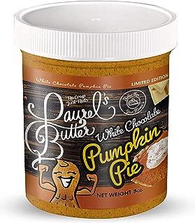 Laurel's Butter - White Chocolate Pumpkin Pie - Limited Edition, Almond, Pecan, Gluten-Free - 8 oz