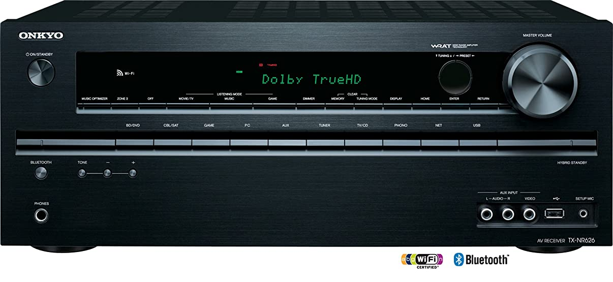 Onkyo TX-NR626 7.2-Channel Network Audio/Video Receiver (Discontinued by Manufacturer)