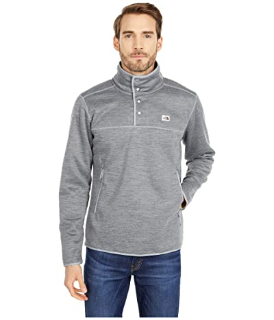 The North Face Sherpa Patrol 1/4 Snap Pullover (TNF Medium Grey Heather) Men