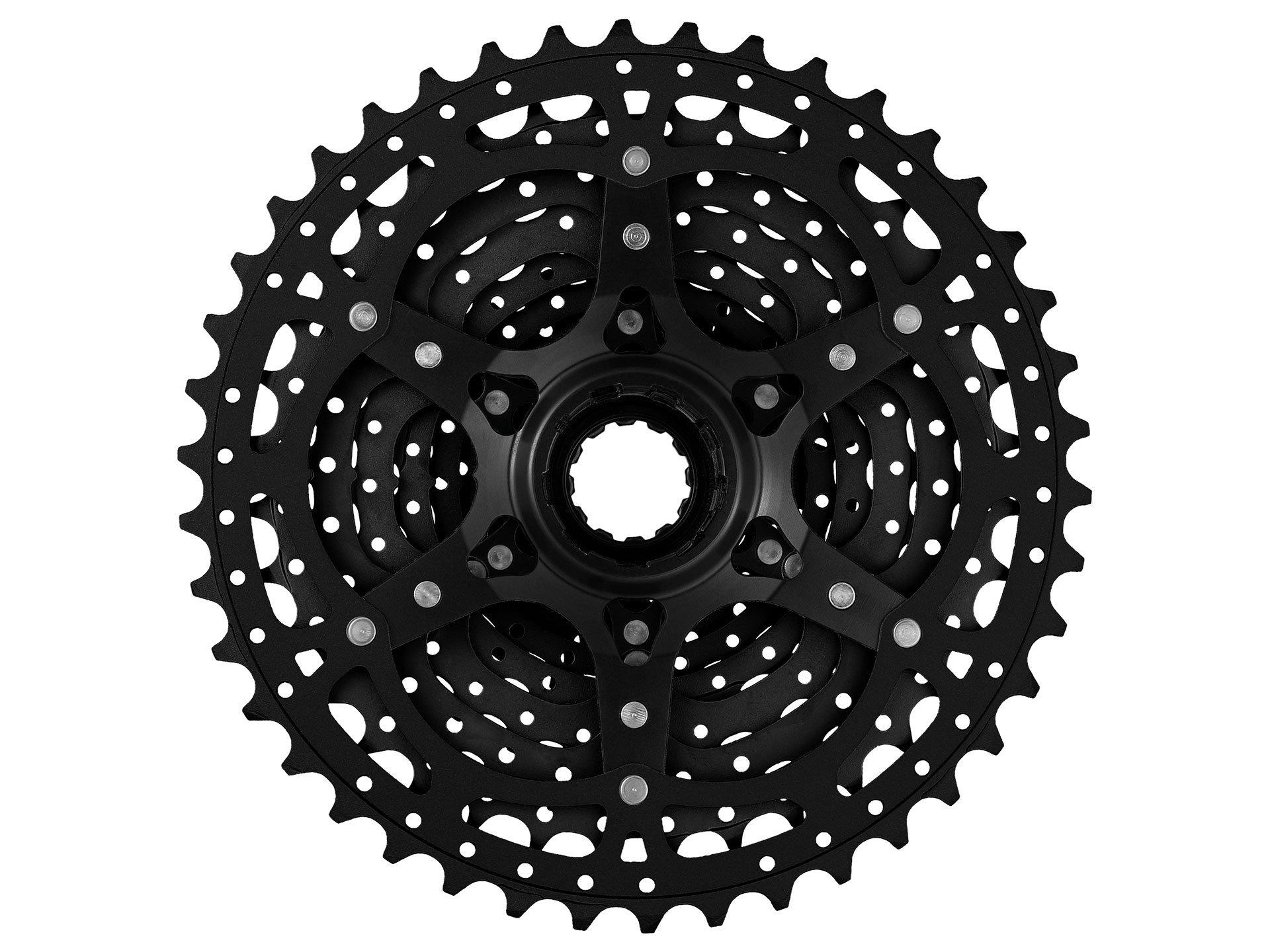 MSC Bikes MS3 Cassette para Bicicleta, Negro, 10V/11-40T: Amazon ...
