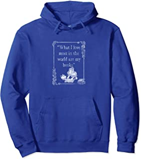 Disney Beauty & The Beast Belle Loves Books Sweat à Capuche