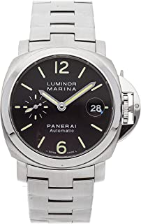 Panerai Luminor Mechanical (Automatic) Black Dial Mens Watch PAM 298 (Certified Pre-Owned)