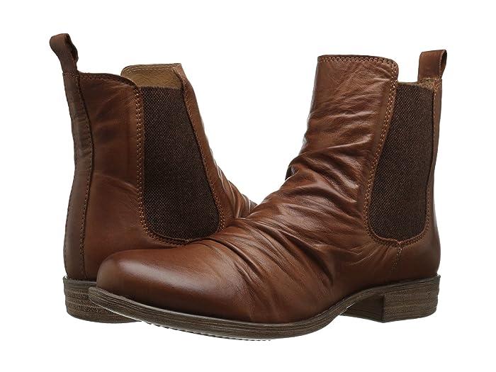 Miz Mooz  Lissie (Dark Brown) Womens Pull-on Boots