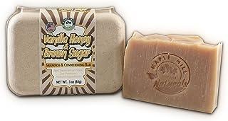 Maple Hill Naturals: Shampoo and Conditioning Bar, Hemp Seed Butter, Shea Butter, Avocado Oil, Jojoba Oil (Vanilla Honey a...