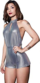 Beauty Garden Womens Jumpsuits Rompers Halter Backless Bodycon Night Club Bodysuits Female Clubwear