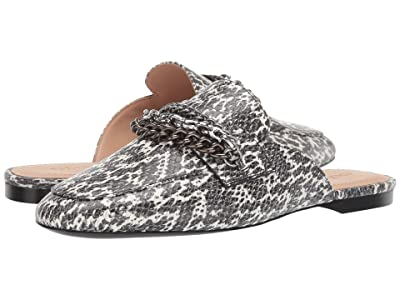 COACH Faye Multi Chains Loafer Slide (Natural Printed Leather) Women