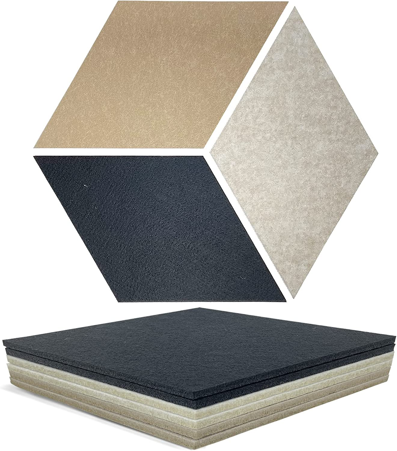 Sound Absorbing Panel Acoustical Wall Decorative Padding Felt 17 Outlet sale feature Beauty products