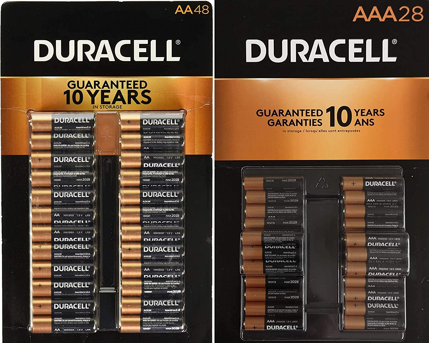 Duracell CopperTop Alkaline Batteries Variety 48 Batte Popular shop is the lowest price challenge Pack - AA Safety and trust