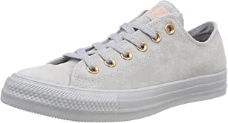 833fbf64 Converse CTAS Ox Wolf Grey/Blue Chill, Zapatillas Unisex Adulto