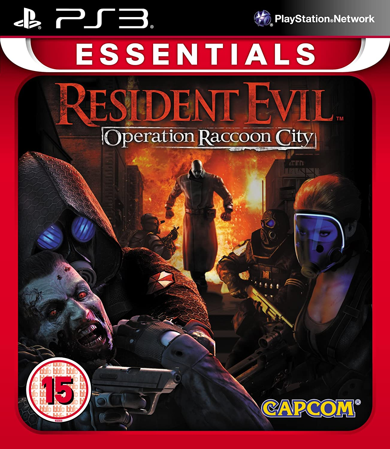 Resident Evil: Popular shop is the lowest Elegant price challenge Operation Raccoon PlayStation 3 City: Essentials