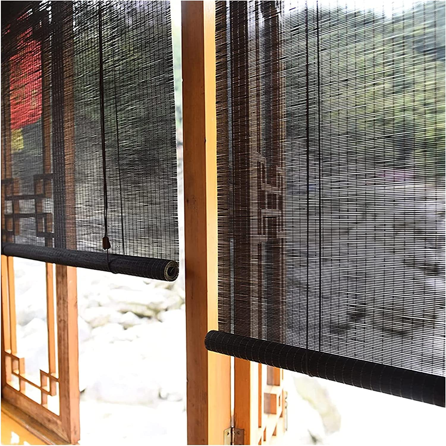 MTDWEITOO Bamboo Blinds for SALENEW very popular Windows Natural Ro Manufacturer direct delivery Breathable