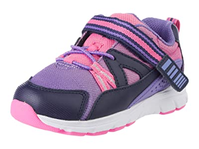 Stride Rite SINGLE SHOE M2P Journey XW Adaptable (Toddler) (Purple Multi) Girl