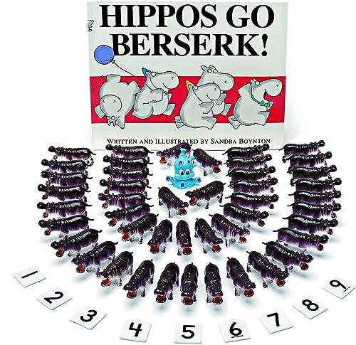 diseño simple y generoso Hippos Go Go Go Berserk 3D Storybook  Venta al por mayor barato y de alta calidad.