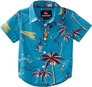 Quiksilver Baby Boys' Freelove Woven Shirt - Blue